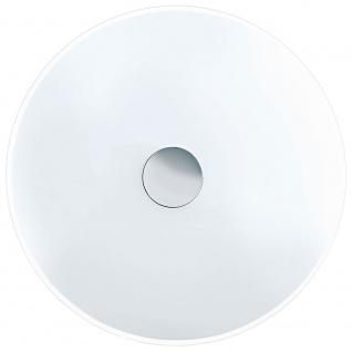 Eglo 91247 Nube Wand- & Deckenleuchte 2-flammig Ø 42cm Weiß Klar Weiß Chrom