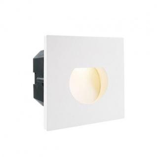 Abdeckung Rund Weiß für LED-Einbauleuchte Steps Outdoor