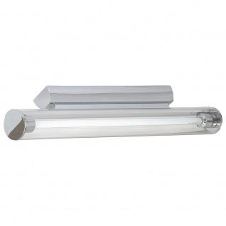 Licht-Trend Pipe Spiegel Wandleuchte Acrylrohr 60cm Chrom
