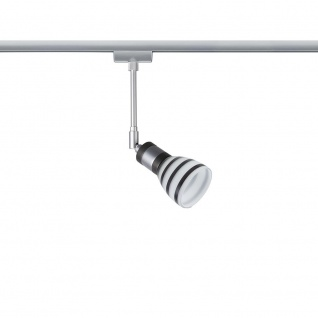 Paulmann URail System Light&Easy Spot Titurel 1x42W G9 Opal Schwarz Glas 96841