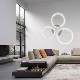 s.LUCE Ring 40 LED Decken & Wandlampe Dimmbar Wohnzimmer Ring Deckenlampe Wandlampe