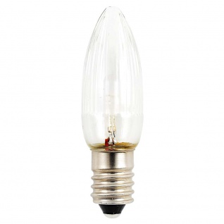 LED Birne universal 3er-Blister 2 warmweiß 14 - 55V E10 Schraubgewinde