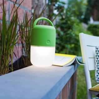Mobile LED Solarleuchte Bump IP44 Grün Solar Gartenlampe Gartenleuchte