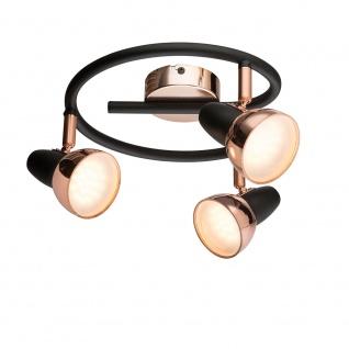 Tobi LED Strahler Kupferfarben 3xLED