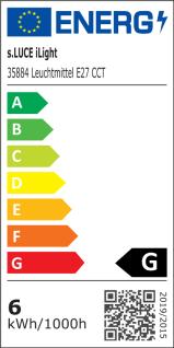 iLight E27 LED Glühbirne 6W CCT Farbwechsel Wifi Steuerung iPhone iPad LED-Lampe - Vorschau 4