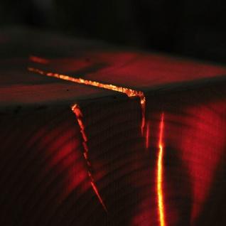 Almleuchten H1 kubische Hängeleuchte 18 x 18cm aus Altholz Hängelampe aus Holz - Vorschau 4