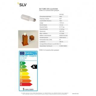 SLV E27 TUBE LED Leuchtmittel 3000K für Aussenleuchten geeignet 551532 - Vorschau 3