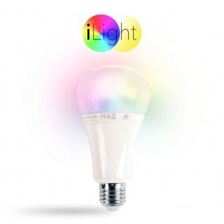 s.LUCE iLight E27 LED-Leuchtmittel 12W RGB+CCT LED-Lampe Farbwechsel & Dual White