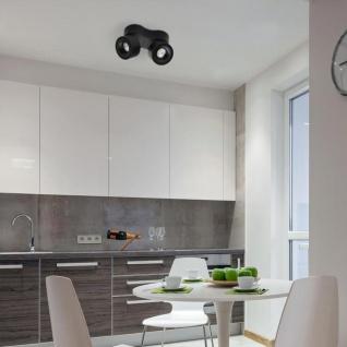 Licht-Trend LED Deckenspot Simple 2x680lm Schwarz - Vorschau 2