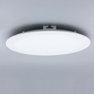 Licht-Design 30815 Einbau LED-Panel 2140lm Dimmbar Ø 30cm Neutral Weiss