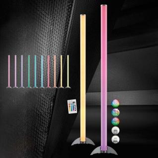 Rocky LED Stehleuchte 121cm mit Farbwechsel und Fernbedienung LED Röhre
