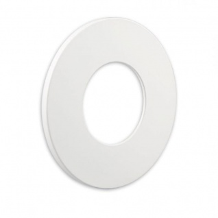 Cover für Einbaustrahler Sys-68 rund Weiß