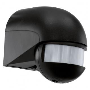 Eglo 30199 Detect Me Detect Me Bewegungsmelder 180° Bewegungssensor Schwarz