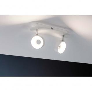Paulmann Spotlight Funnel 2x6W Weiß-Matt Chrom dimmbar 66733
