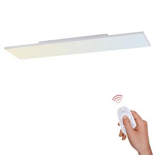 Licht-Trend Q-Flat 2.0 rahmenloses LED Deckenlampe 100 x 10cm CCT + FB Weiß LED-Aufbaupanel