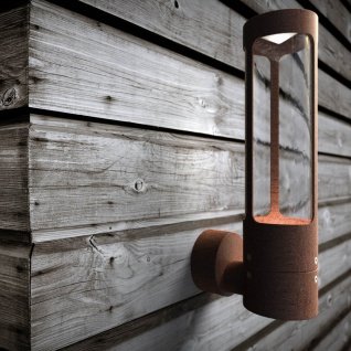 Licht-Trend Rocha LED-Aussen-Wandleuchte rostfarben Wandlampe Aussen
