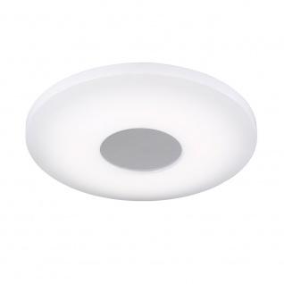 Wofi Dimmbare LED Deckenleuchte VIEW mit Fernbedienung 2000lm Weiss 906601065340 - Vorschau 4