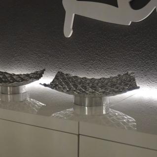 s.HOME Barrow XL Design Aluschale 30 x 30cm Alu-Matt Dekoschale Obstschale - Vorschau 3
