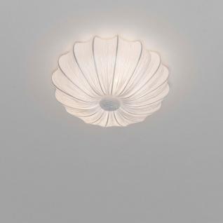 Holländer 421 1602 Deckenleuchte 2-flammig Sultano Piccolo Baumwolle Weiß