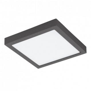 Eglo 96495 Argolis LED Aussen-Deckenleuchte 30 x 30cm 2600lm Anthrazit
