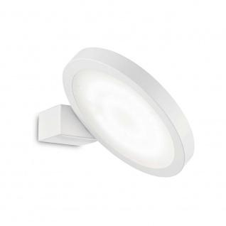 Ideal Lux Hängeleuchte Flap Ap1 Rund Weiß