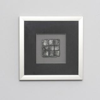 Holländer 306 3131 S Wandbild Risultato 1 Holz-Glas-Kunststein Silber-Schwarz
