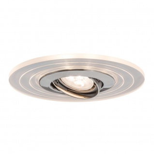 Paulmann Star EBL Set Two Step schwb. m. LED Ring Shine 2700K 3x4, 5W 230V GU10 Eisen g.