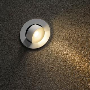 SLV 146362 GILALED Wandleuchte weiss 3W LED 3000K inkl. Positions-LED warmweiss - Vorschau 2