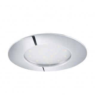 Eglo 95888 Pineda LED Einbauspot Ø 10, 2cm 1000lm Chrom