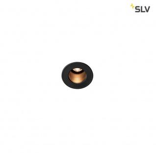 SLV Triton Mini LED Deckeneinbauleuchte Schwarz 3000K SLV 1000915