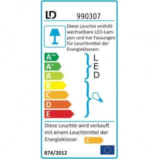 LeuchtenDirekt 50382-10 Sylla LED Deckenleuchte Kristallglas + Anhänger 10 x G4 14W + 88 x LED 0, 0 - Vorschau 3