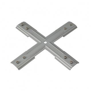 SLV Stabilisator X-Verbinder für 1-Phasen HV-Stromschiene nickel matt 143169