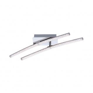 LeuchtenDirekt 11290-17 Simon LED Acryl Deckenleuchte 2x 5W 3000K Chrom