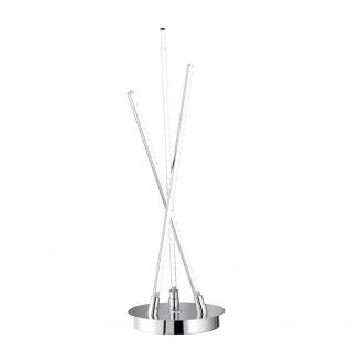 Wofi Camp LED Tischleuchte 3-flammig Chrom 8448.03.01.0000