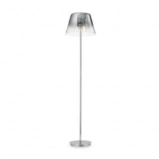 Ideal Lux 111469 Schlichte Stehleuchte Cylinder 175cm Chrom Stehlampe