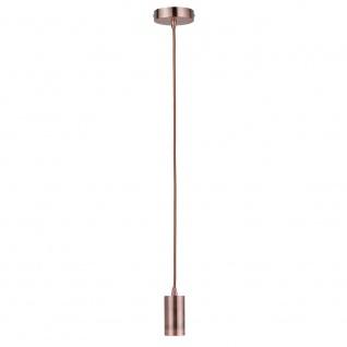 Paulmann Vintage-Pendel mit E27-Fassung Kupfer 50328