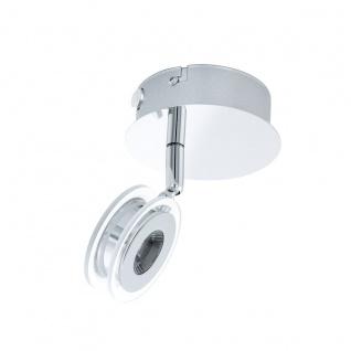 Eglo 94488 Sarolo LED Spot 1 x 33 W Edelstahl Chrom Kunststoff transparent