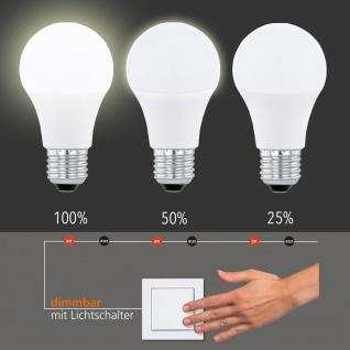 LED-Leuchtmittel / E27 / 10W 800 Lumen / dimmbar per Schalter