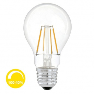 E27 Profi LED klar / Stufenlos dimmbar / 600 Lumen / extra Warmweiss LED-Lamp E27 Leuchtmittel