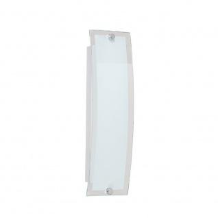 Wofi Lorenz LED Wandleuchte Nickel matt Wandlampe