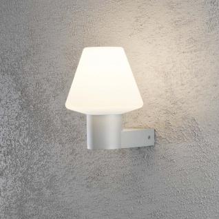Konstsmide 7271-302 Barletta Energiespar Aussen-Wandleuchte Grau Acrylglas - Vorschau 1