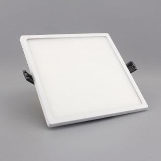 Einbau LED-Panel Ultra mit Mini-Rahmen 2000lm, 17x17cm, warm