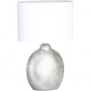 Wofi 845601706000 Tischleuchte Legend Silberfarben