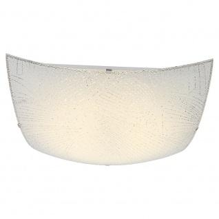 Globo 40485 Noir Deckenleuchte Metall Weiß LED