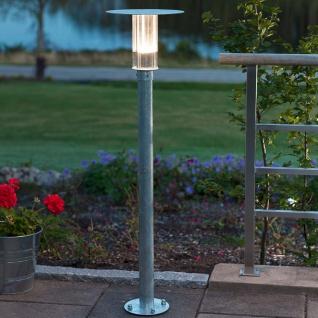 Konstsmide 702-320 Mode LED Wegeleuchte 700lm 3000K galvanisierter Stahl Polycarbonat Glas