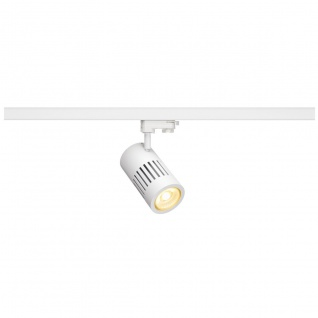 SLV Structec LED 30W rund Weiß rich Color 60° inkl. 3P.-Adapter 176091