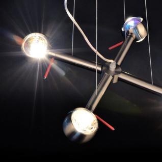 s.LUCE Beam / Effekt Hängeleuchte 4-flammig / Alu-Gebürstet / Hängelampe