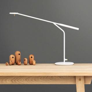Normann Copenhagen LED Tischleuchte Flow 5W 2800-3200K Weiss Design Tischlampe