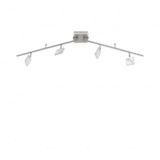 Paul Neuhaus 6860-17 Daan LED Deckenleuchte Chrom Nickel