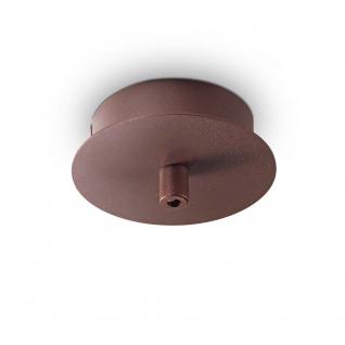 Ideal Lux Ersatzteil Rosone Metallo 1 Rund Braun 203270